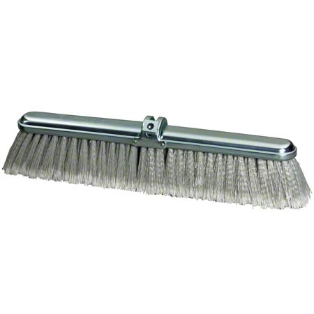 MDB Speed Sweep® Gray Flagged PVC Floor Sweep - 24""