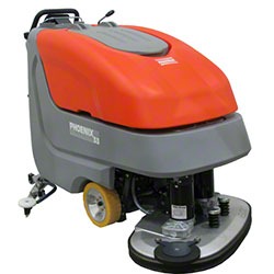 "Minuteman® E3330 Disc Brush Automatic Scrubber -33"", 220AH"
