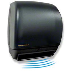 Von Drehle Universal Electronic Towel Dispenser - Smoke