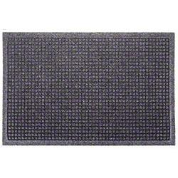 M + A Matting Waterhog® Fashion Border Mat-Bluestone, 6x8