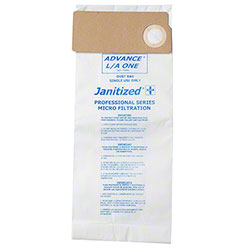 Janitized® Vacuum Filter Bag For Advance 114 & 118