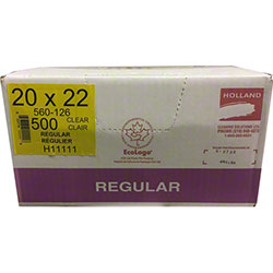 Holland Utility Garbage Bag - 20 x 22, Clear