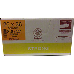 Holland Strong Garbage Bag - 26 x 36, Black