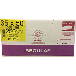 Holland Regular Garbage Bag - 35 x 50, Clear