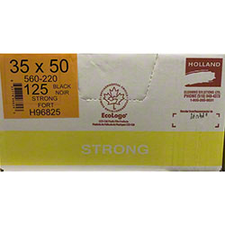 Holland Strong Garbage Bag - 35 x 50, Black