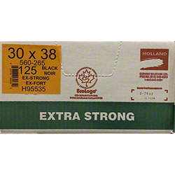 Holland Extra Strong Garbage Bag - 30 x 38, Black