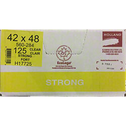 Holland Strong Garbage Bag - 42 x 48, Clear