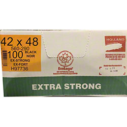 Holland Extra Strong Garbage Bag - 42 x 48, Black