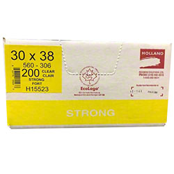 Holland Strong Garbage Bag -30 x 38, Clear