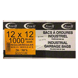 Holland Utility Garbage Bag - 12 x 12, Black