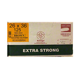 Holland Extra Strong Garbage Bag - 26 x 36, Brown