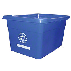 #BC14 Blue Recycle Curbside Box