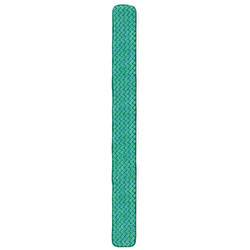 "Rubbermaid® HYGEN™ Microfiber Dust Pad - 48"", Green"