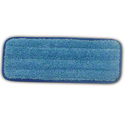 "Rubbermaid® HYGEN™ Wall/Stair Wet Pad - 11"", Blue"