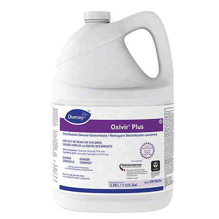 Diversey™ Oxivir® Plus Disinfectant Cleaner - Gal.