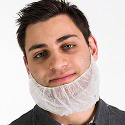 Wayne White Polypropylene Beard Guard