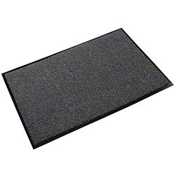 Crown Rely-On™ Olefin Wiper Mat - 3' x 6', Charcoal