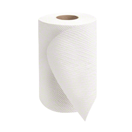 "Morcon™ Mor-Soft™ White Hardwound Towel - 8"" x 350'"