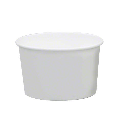 Solo® White Double Poly Paper Food Container -16 oz.