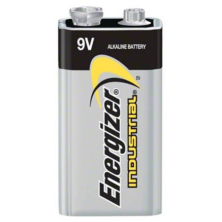 Energizer® Industrial Alkaline 9 Volt Battery