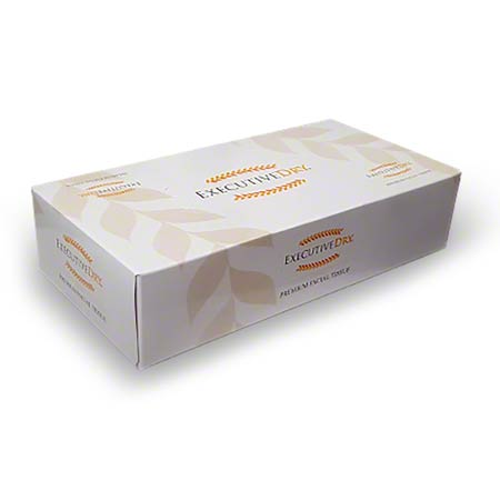 Executive Dry Premium 2 Ply Facial Tissue - 100 ct.