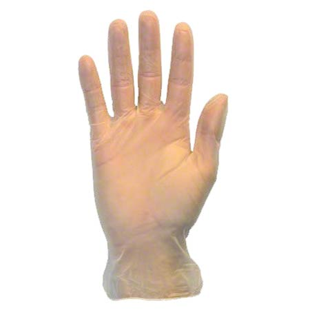 Safety Zone HelpingHands Disposable Vinyl Glove - Large