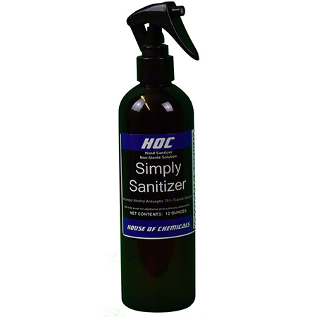 HOC Simply Sanitizer - 12 oz.