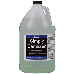 HOC Simply Sanitizer Gel - Gal. Refill