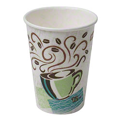 Dixie® PerfecTouch™ Coffee Haze Paper Hot Cup - 12 oz.
