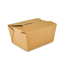 Royal Kraft Folded Takeout Box - #1