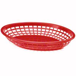 Tablecraft Oval Jumbo Basket - Red