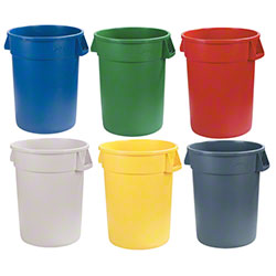 Carlisle Bronco™ Round Waste Containers & Lids