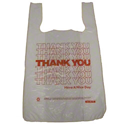 Barnes Paper Thank You Bag - 8 x 4 x 16