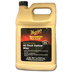 Meguiar's Mirror Glaze Hi-Tech Yellow Wax 26 - Gal.