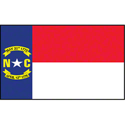 Outdoor NC Nylon Flag - 4' x 6'