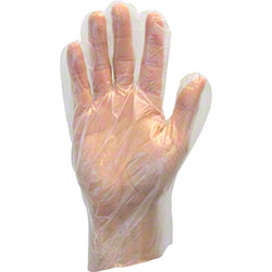 Safety Zone Polyethylene Disposable Glove - Large