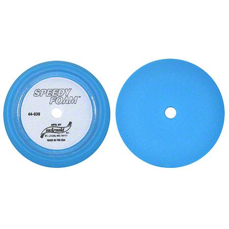 "SM Arnold® Speedy Foam® 70 PPI Blue Buffing Pad - 9"""