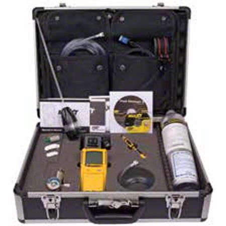 GasAlertMax XT O2 LEL H2S CO Premium Confined Space Kit