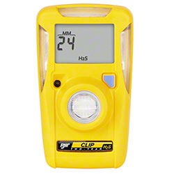 BW Clip 2-Year Single-Gas Detector - Hydrogen Sulfide (H2S)