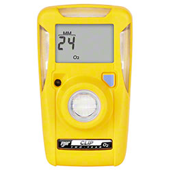 BW Clip 2-Year Single-Gas Detector - Oxygen (O2)