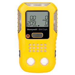 Honeywell BW Clip4 4-Gas Detector - O2, LEL, H2S, CO