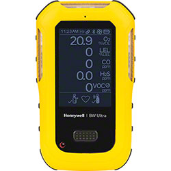 Honeywell BW™ Ultra Gas Detector - O2/LEL/H2S/CO/NH3/Y/NA