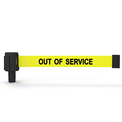 "Banner PLUS Head w/Yellow ""Out of Service"" Banner"