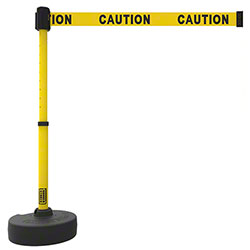 "Banner PLUS Barrier Set - Yellow ""Caution"""