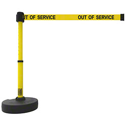 "Banner PLUS Barrier Set - Yellow ""Out of Service"""