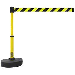 Banner PLUS Barrier Set - Yellow/Black Diagonal Stripe