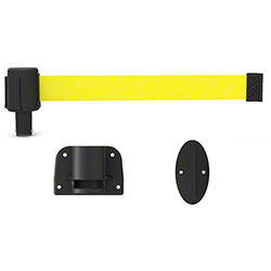 Banner PLUS Wall Mount System - Blank Yellow Banner