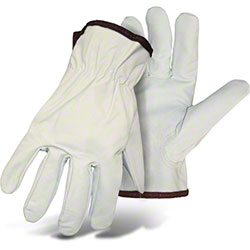 Boss® Economy White Goatskin Gloves