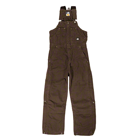 Berne Apparel® B377 Highland Washed Insulated Bib Overall