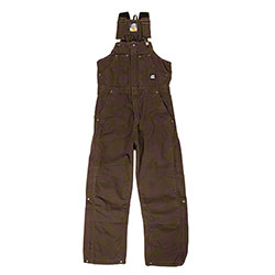 Berne Apparel® B377 Highland Washed Insulated Bib Overalls